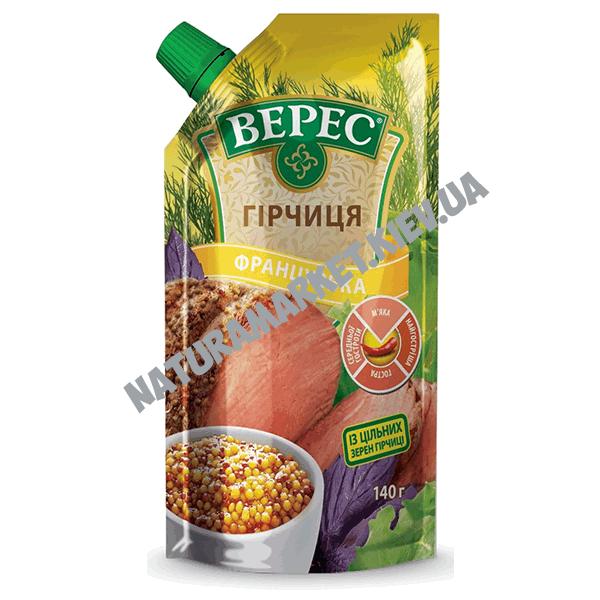 Купить горчицу Французскую Верес 140г в Киеве