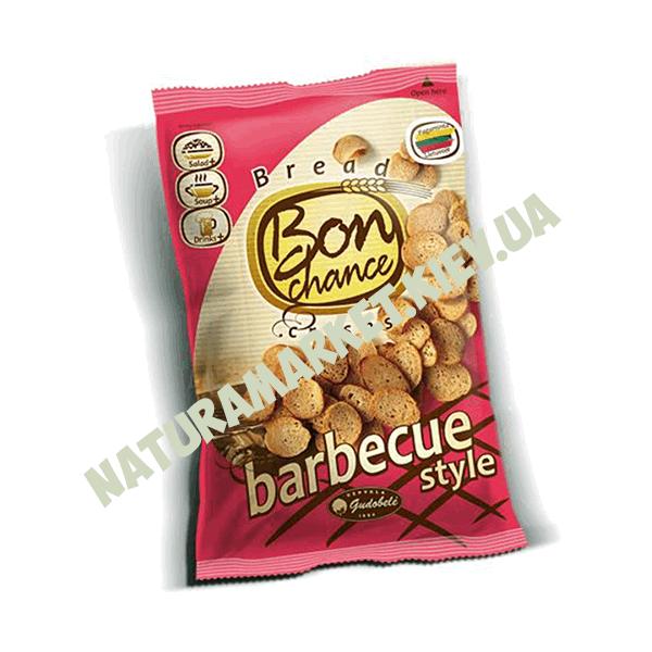 Купить хлебные чипсы cо вкусом барбекю Бон шанс в Киеве