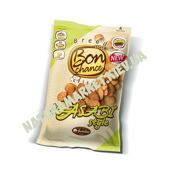 Хлебные чипсы со вкусом Васаби Бон шанс