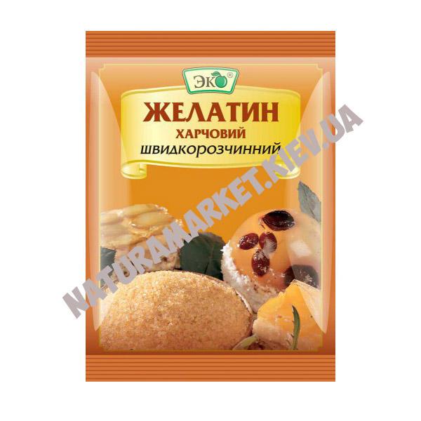Желатин Эко пищевой, 15г/шт