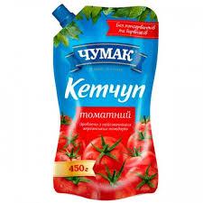 Кетчуп томатный Чумак 450г