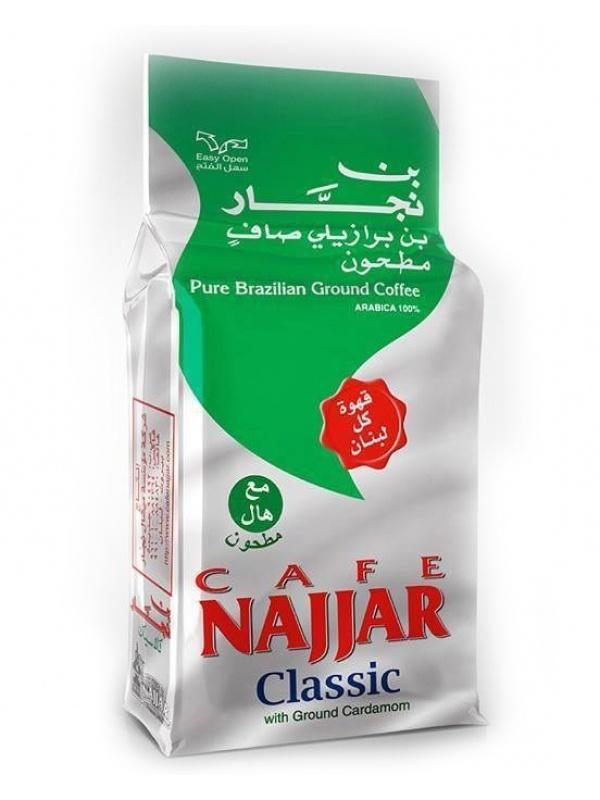 Арабский кофе с кардамоном Наджар (Najjar) 200 г/шт