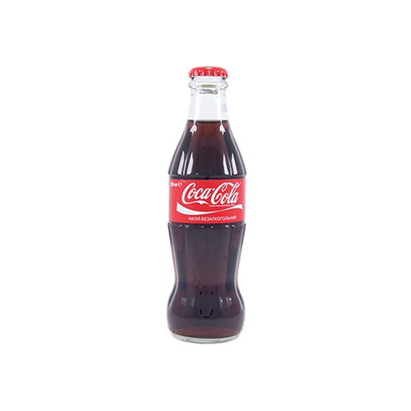 Кока-кола 0,25 (стекло)