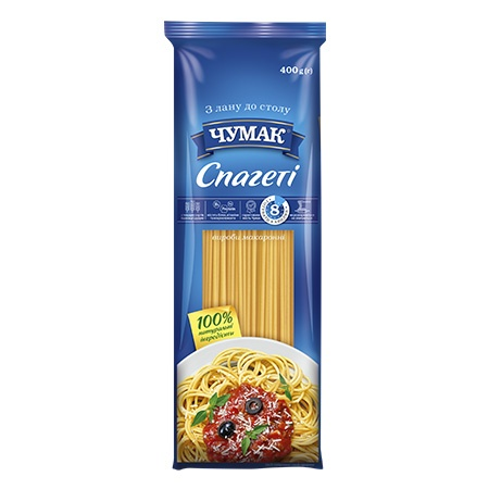 Макароны «Спагетти», Чумак  400 г/шт