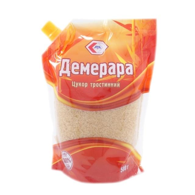 Сахар тростниковый  500 г /шт