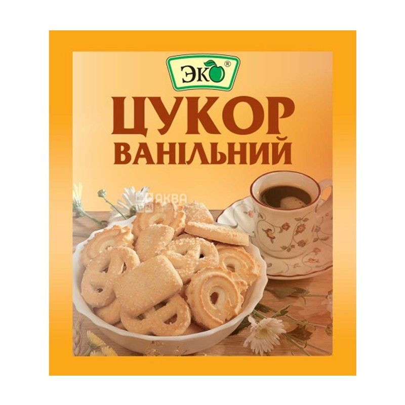 Сахар ванильный Эко, 10 г