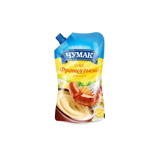 Соус ТМ Чумак «Французкий » с горчицей 200г