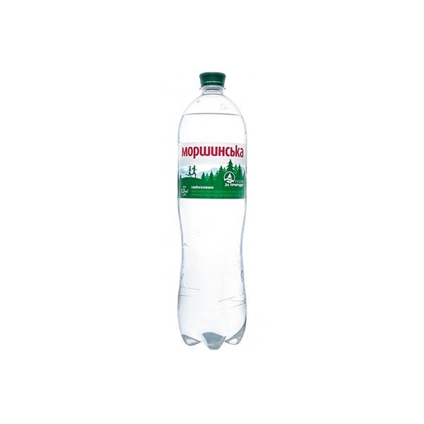 Вода Моршинская 1,5л слабогазированная