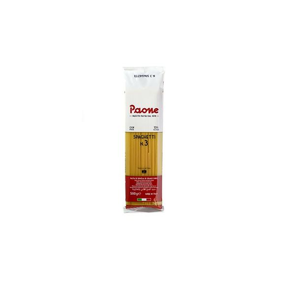 Паста классическая Spaghetti TM Paone 500г